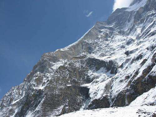 Dhaulagiri West Ridge, Babanov, Totmjanin, new route, 2008