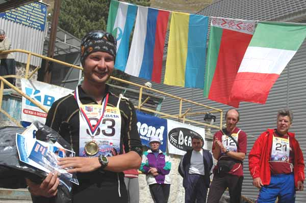 Valentin Vergiljush - the Winner of International ELBRUS RACE 2009