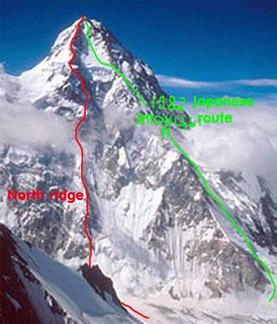 K2 North Ridge