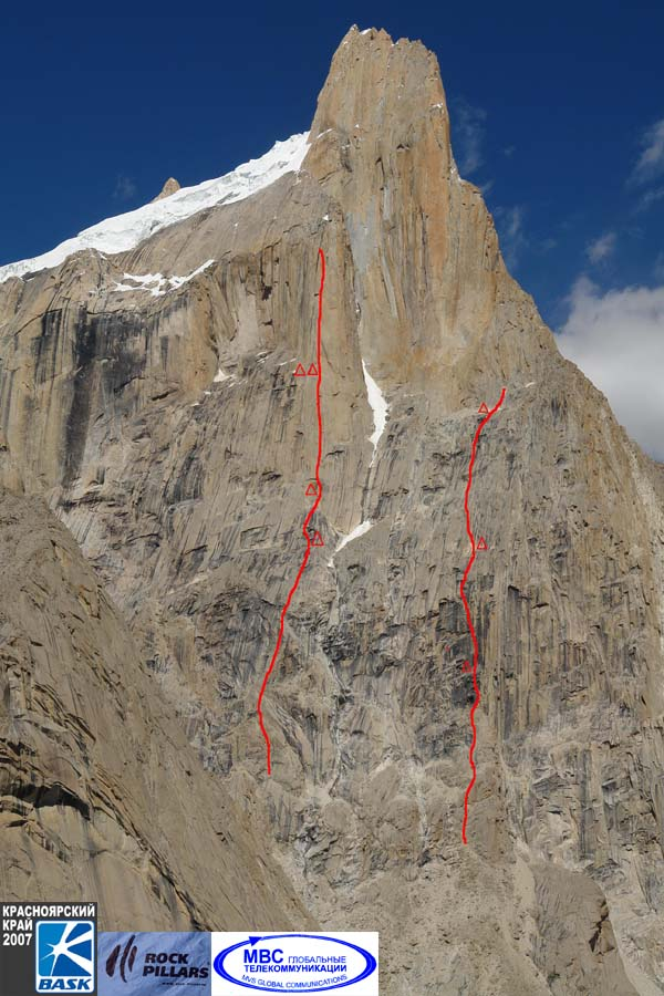 NW Face Great Trango Tower