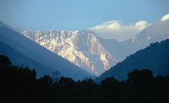view to lhotse